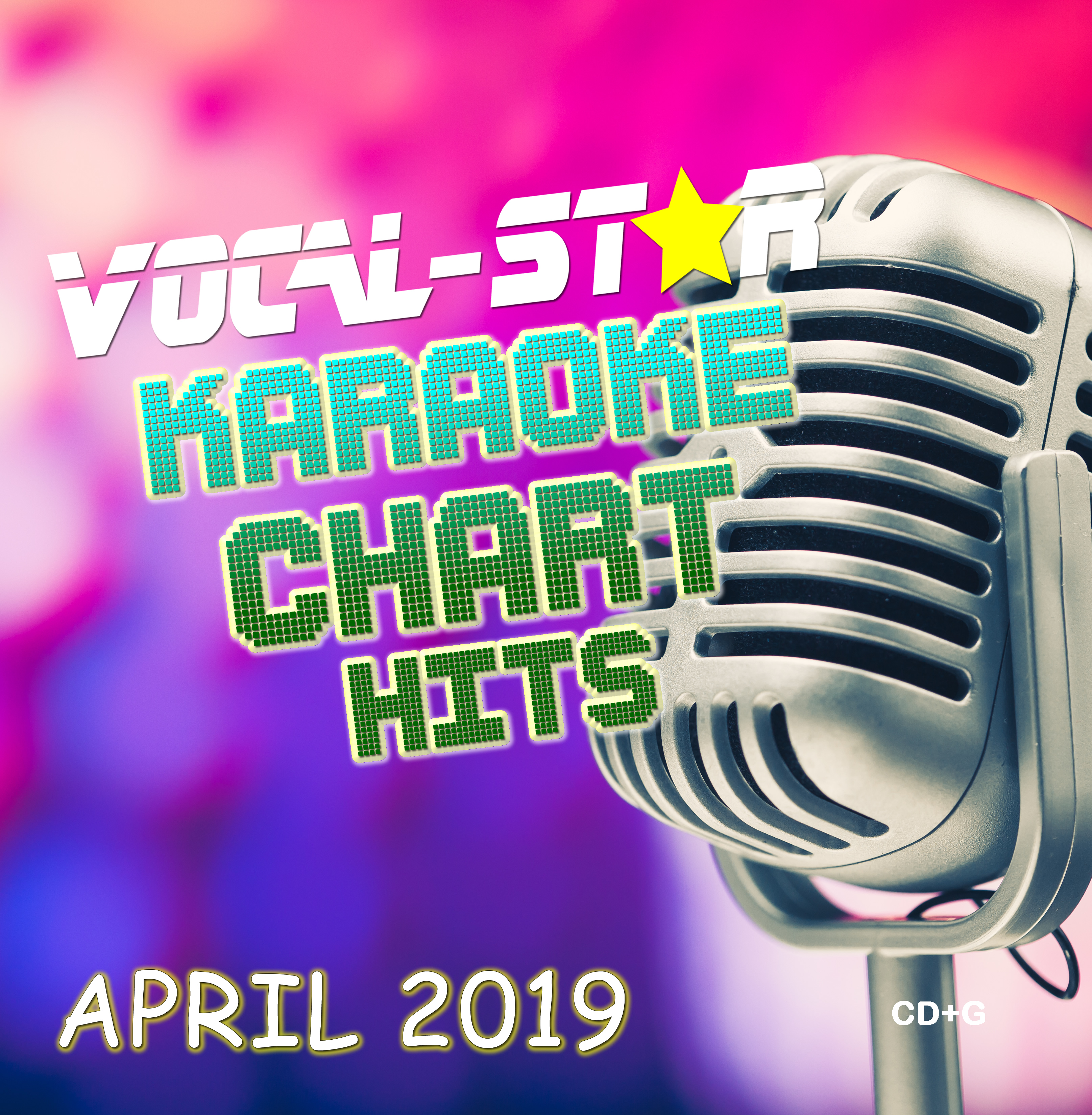 Vocal-Star April 2019 Hits CD+G Disc