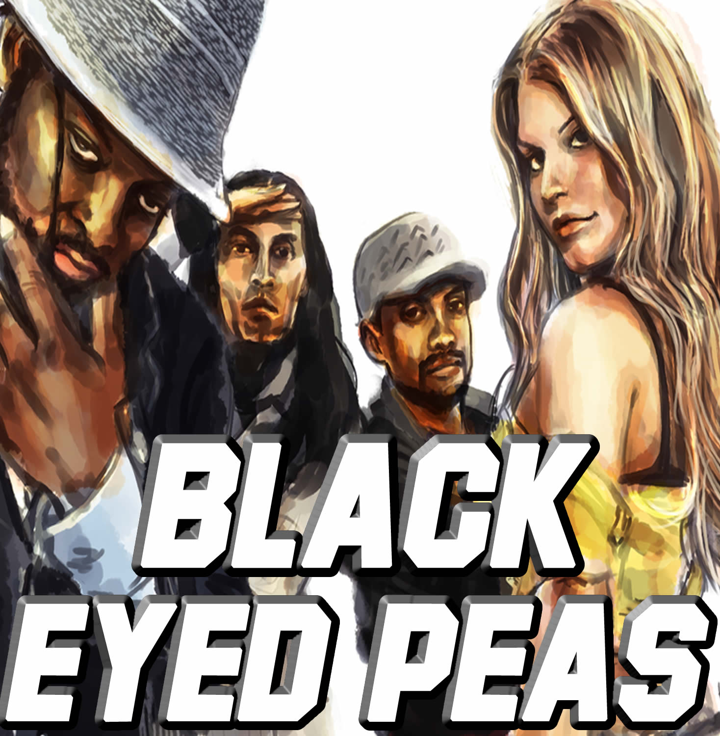 Vocal-Star Black Eyed Peas Hits