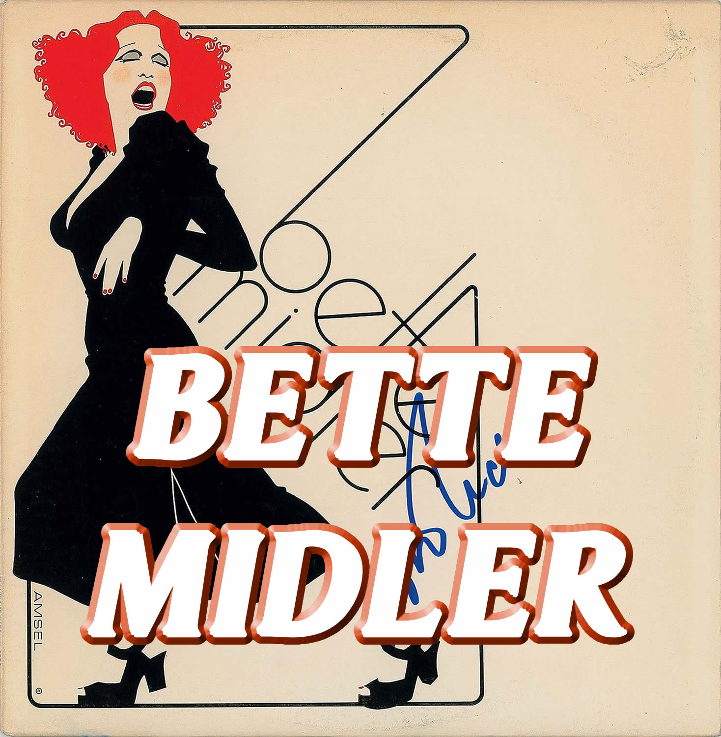 Vocal-Star Bette Midler Hits