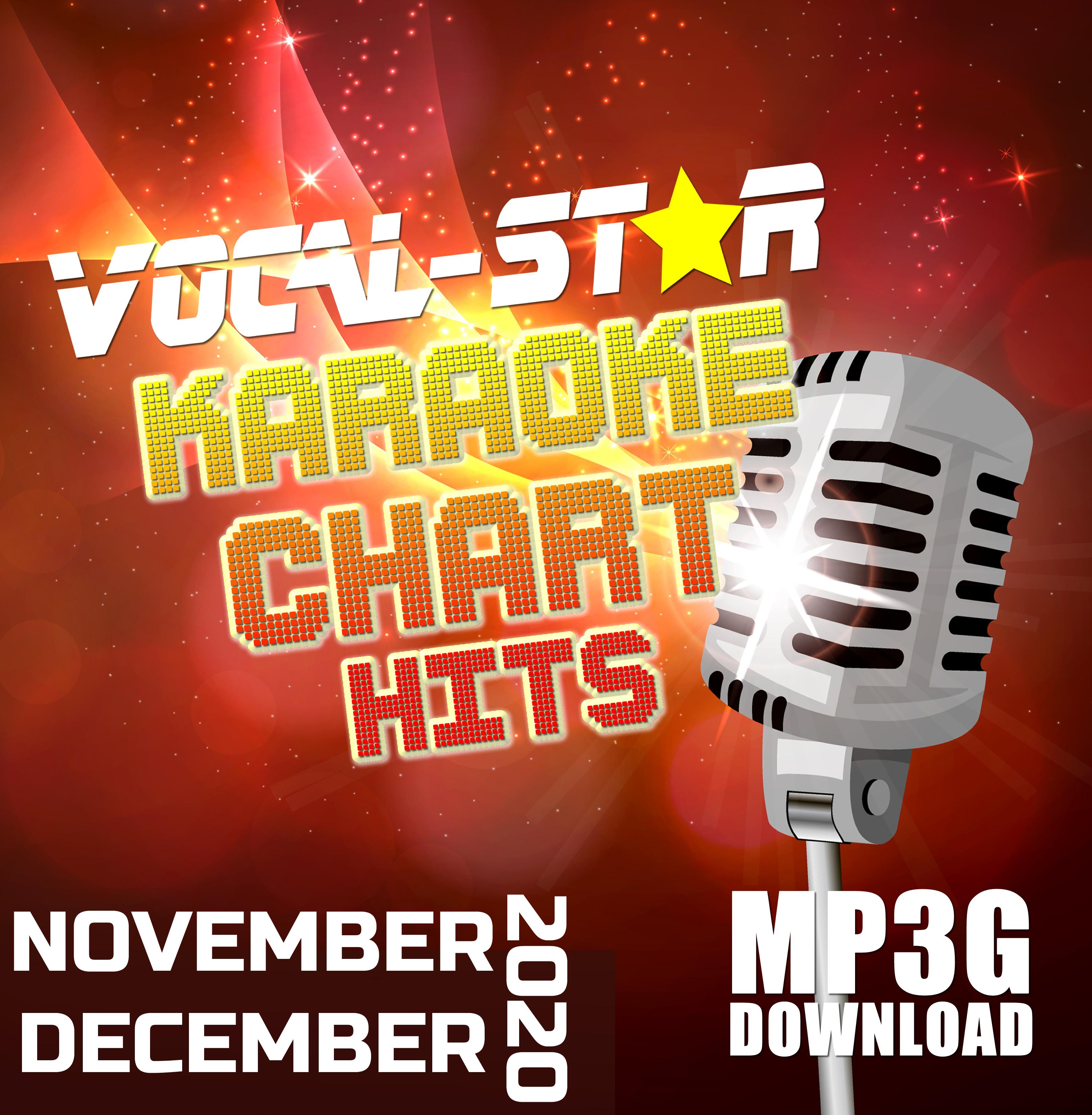 Vocal-Star November & December 2020 Hits Digital Download