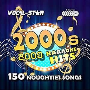Vocal-Star 00s Karaoke Disc Set 8 CDG Discs 150 Songs