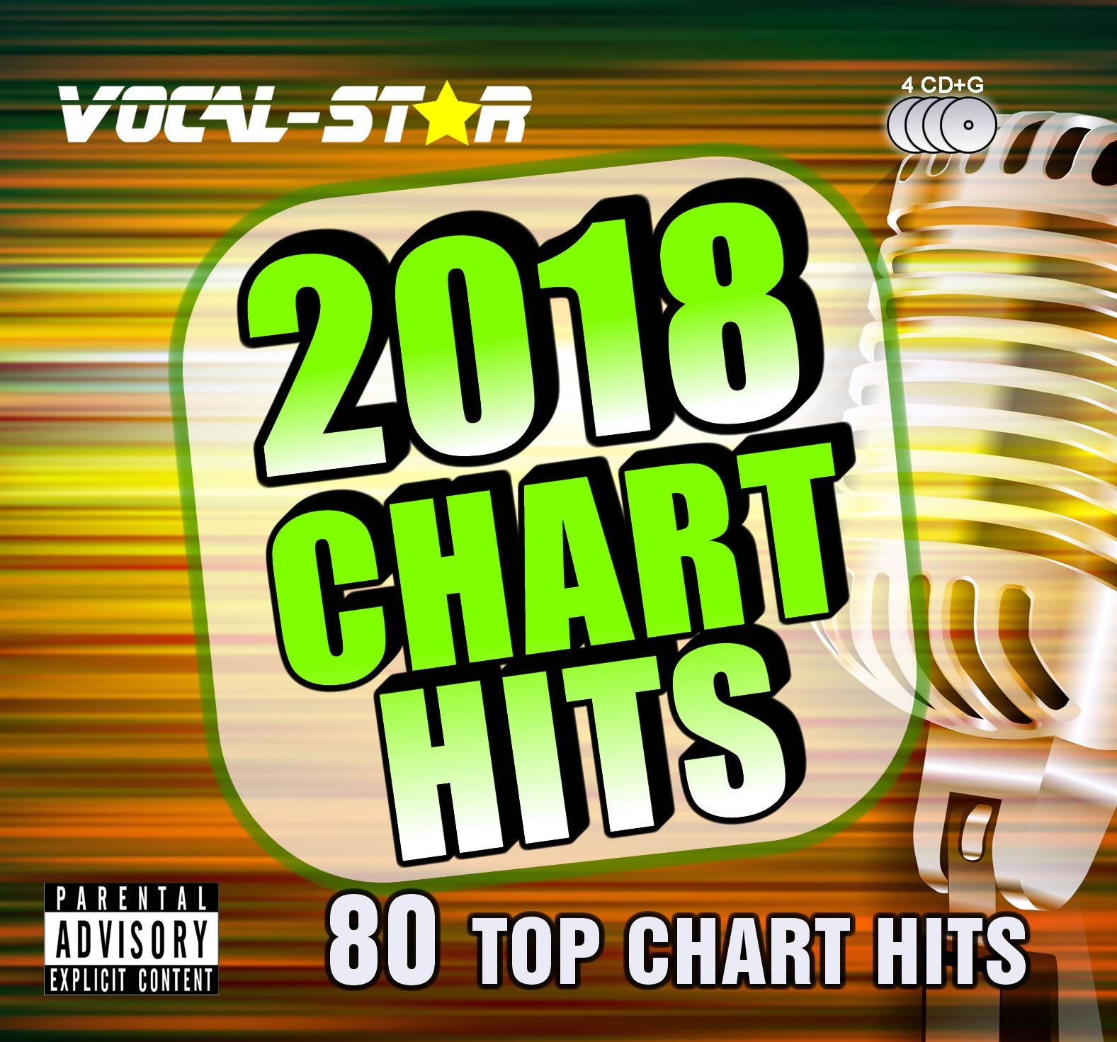 Vocal-Star 2018 Karaoke Hits 80 Songs