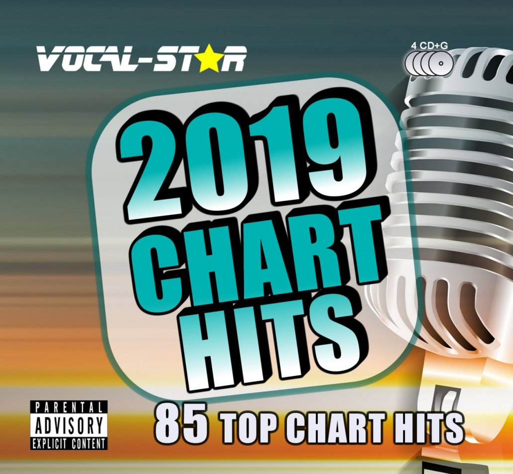 Vocal-Star VS2019 Chart Hits CDG Disc Set