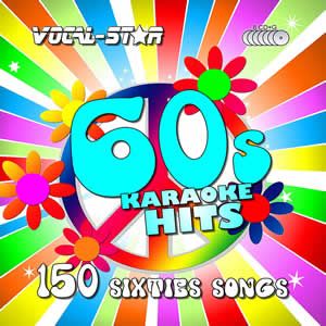 Vocal-Star 60's Karaoke Disc Set 8 CDG Discs 150 Songs