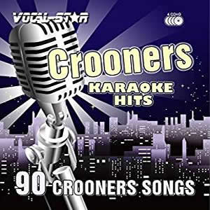 Vocal-Star Crooners Karaoke Disc Set 8 CDG Discs 90 Songs