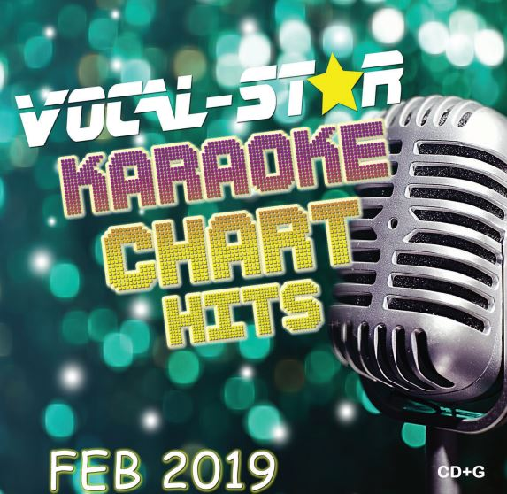 Vocal-Star February 2019 Hits CD+G Disc