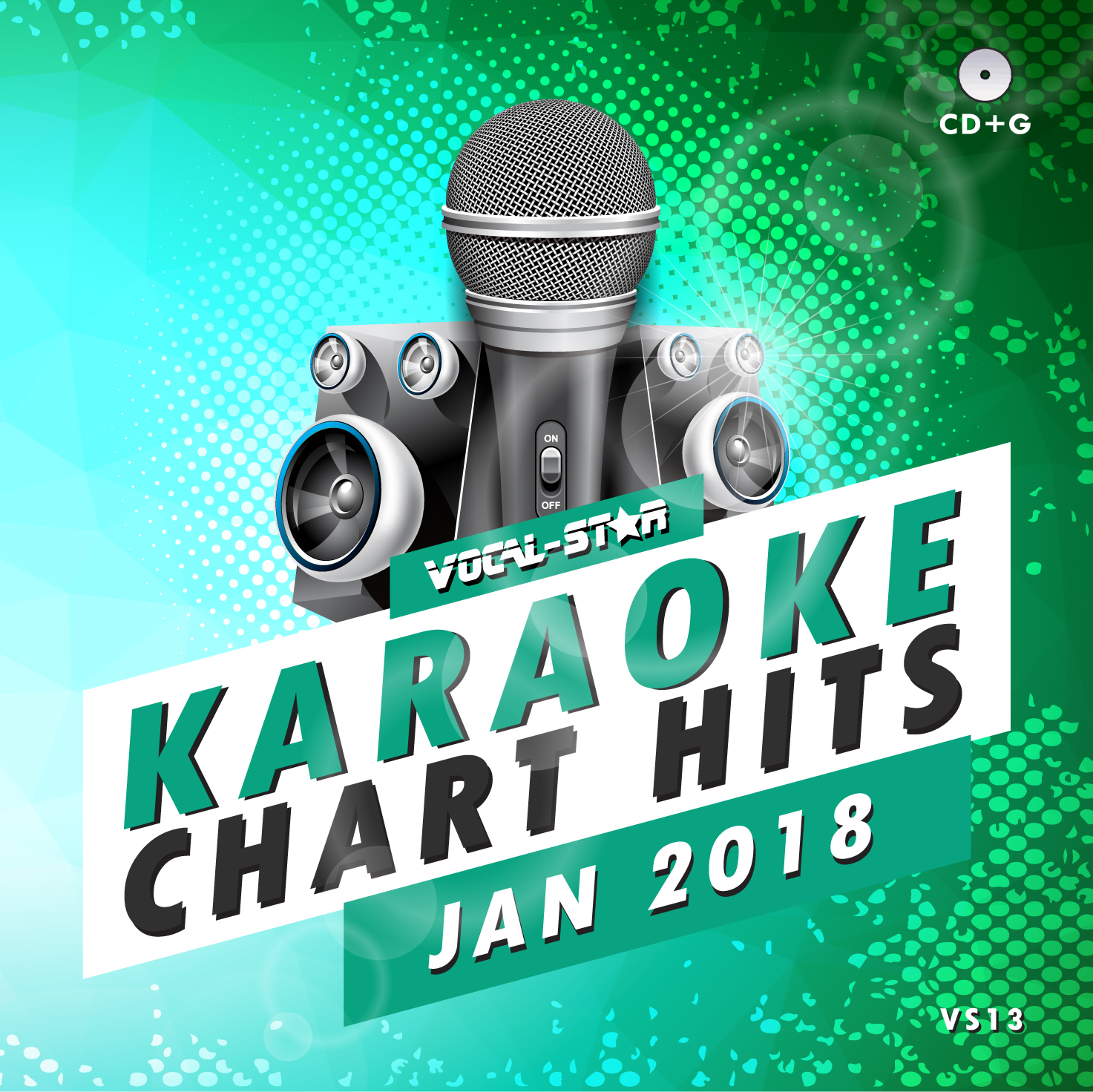Vocal-Star January 2018 Hits Karaoke Disc 18 Songs