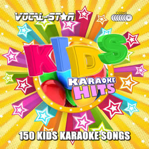 Vocal-Star Kids Karaoke Disc Set 7 CDG Discs 150 Songs