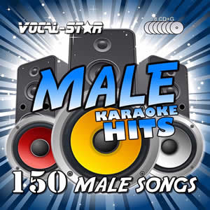 Vocal-Star Male Karaoke Disc Set 8 CDG Discs 150 Songs