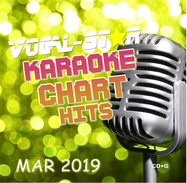 Vocal-Star March 2019 Hits CD+G Disc