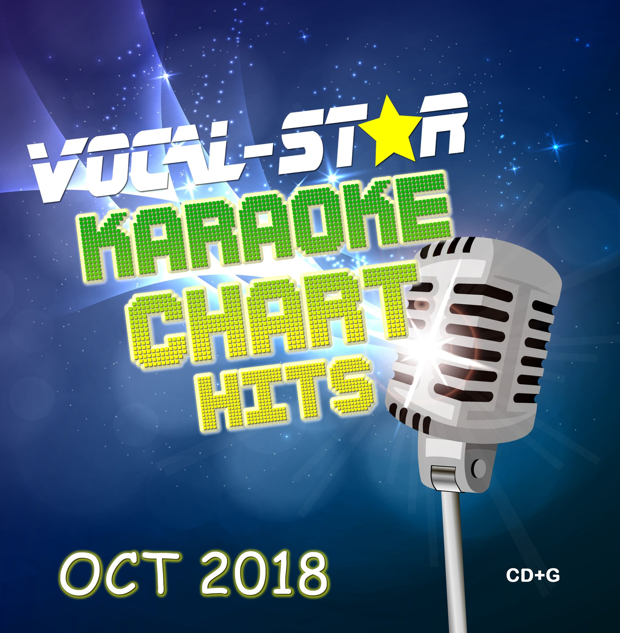 Vocal-Star October 2018 Hits - CD+G Disc