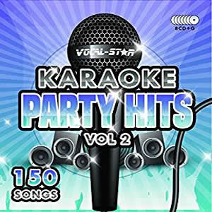 Vocal-Star Party Hits 2 Karaoke Disc Set 8 CDG Discs 150 Songs