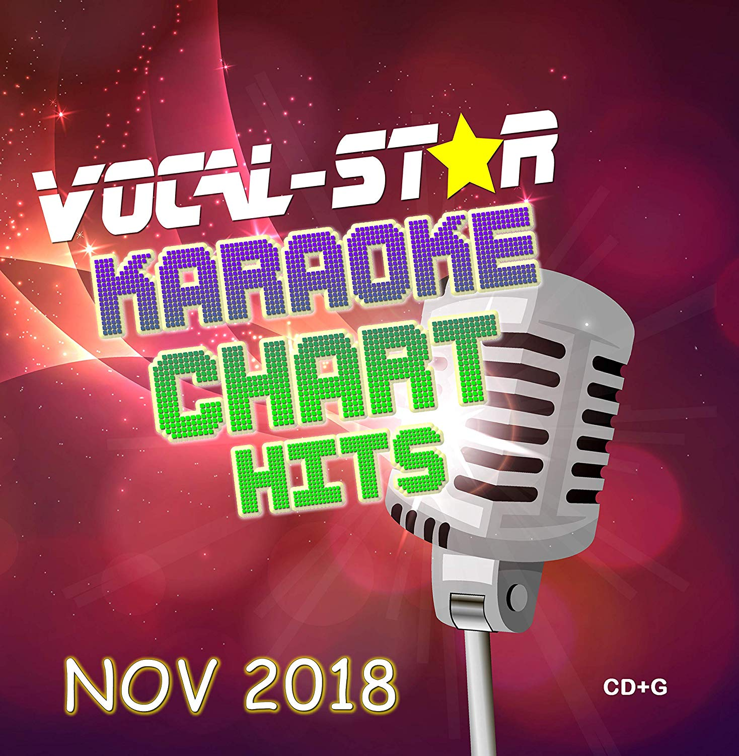 Vocal-Star November 2018 Hits CD+G Disc